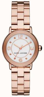 Marc Jacobs Damski zegarek riley w kolorze różowego złota MJ3474