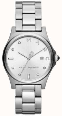 Marc Jacobs Damska henry ogląda srebrny odcień MJ3599