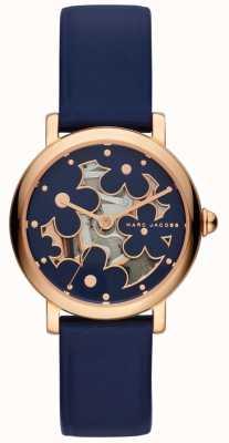 Marc Jacobs Damski marc jacobs klasyczny zegarek granatowy MJ1628