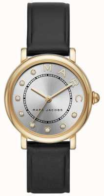 Marc Jacobs Womens marc jacobs klasyczny zegarek czarny leatherr MJ1641