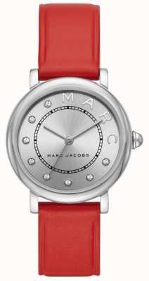 Marc Jacobs Zegarek damski marc jacobs classic czerwona skóra (bez pudełka) MJ1632