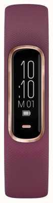 Garmin Vivosmart 4-godzinny tracker typu oxford, mały / średni, fioletowy, różany, złoty 010-01995-01