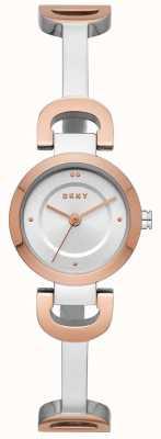 DKNY Link bransoletka zegarek ze stali nierdzewnej dla kobiet NY2749