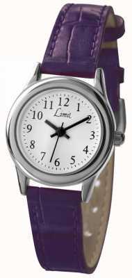 Limit Biała, purpurowa tarcza damska 6932