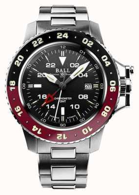 Ball Watch Company Inżynier aerogmt węglowodorów ii 42mm czarna tarcza DG2018C-S3C-BK