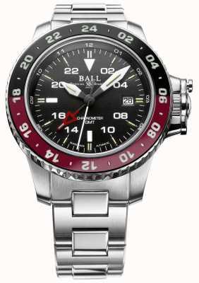 Ball Watch Company Inżynier węglowodor Aerogmt II 42mm czarna tarcza DG2018C-S3C-BK