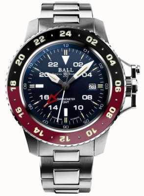 Ball Watch Company Inżynier aerogmt węglowodorów ii 42mm niebieska tarcza DG2018C-S3C-BE
