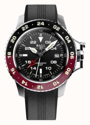 Ball Watch Company Inżynier aerogmt węglowodorów ii 42mm czarna tarcza DG2018C-P3C-BK