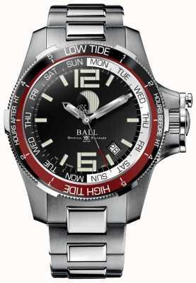 Ball Watch Company Inżynier węglowodorowy zegarek pływowy 42 mm DM3320C-SAJ-BK