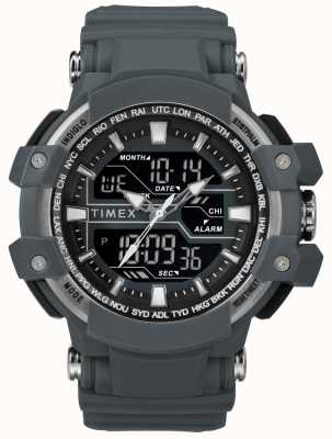 Timex Męski, ciemnoszary pasek w rozmiarze 50mm TW5M22600