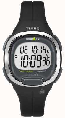 Timex Womens ironman essentials 10 czarny i chromowany TW5M19600