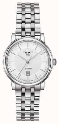 Tissot | lady automatyczna carson | stal nierdzewna srebrny | T1222071103100