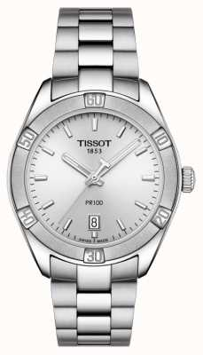 Tissot Damski PR 100 Sport Chic 36mm Stal nierdzewna Srebrny T1019101103100