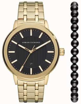 Armani Exchange Męski zestaw upominkowy do zegarków AX7108