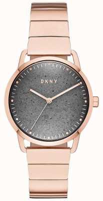 DKNY Zegarek damski Dkny z różowego złota NY2757