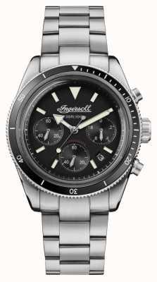 Ingersoll Scovill automatyczny chronograf ze stali nierdzewnej I06201
