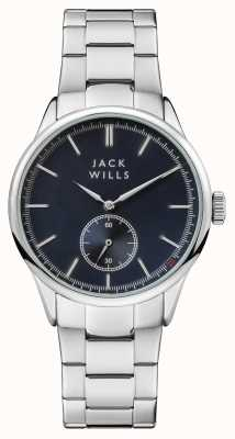 Jack Wills Mens forster niebieska bransoleta ze stali nierdzewnej JW004BLSL