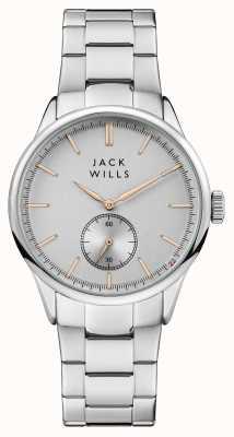 Jack Wills Męska bransoleta ze stali nierdzewnej forster ze srebra JW004SLSL
