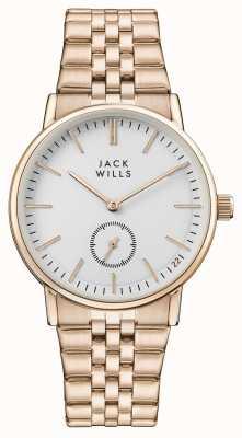 Jack Wills Damska bransoletka z białą bransoletką z żółtego złota JW007WHRS