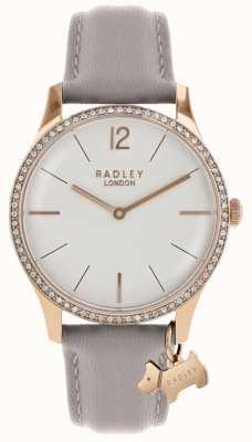 Radley Zegarek damski z różowo-złotym, skórzanym paskiem RY2702
