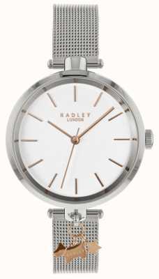 Radley Damski srebrny zegarek | pasek ze stali nierdzewnej | RY4363