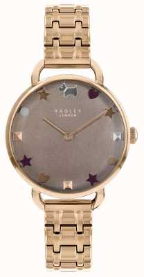Radley Zegarek damski z różową bransoletą na ramię RY4350
