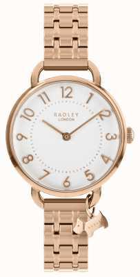 Radley Damski zegarek z bransoletą na ramię w kolorze różowego złota RY4344