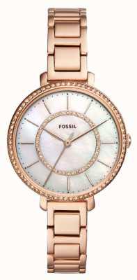 Fossil jocelyn różowe złoto ES4452