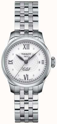 Tissot Damski zegarek automatyczny le locle z cienkimi diamentami T41118316
