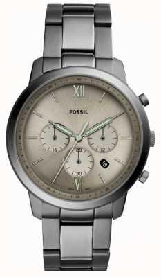 Fossil | neutra chronograf zegarek dymny męskie | FS5492