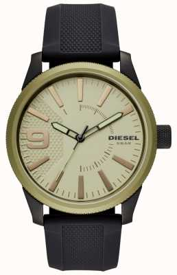 Diesel Męski zegarek z grubej gumy DZ1875