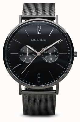 Bering Klasyczny | polerowane czarne | męskie | 14240-223