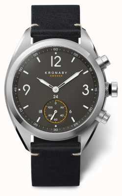 Kronaby Apex smartwatch | czarny pasek | a1000-3114 S3114/1