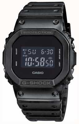 Casio Mężczyzna g-shock black-out wybierania żywicy zespołu DW-5600BB-1ER