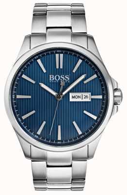 Hugo Boss Męskie niebieskie bransoletki ze stali nierdzewnej james 1513533