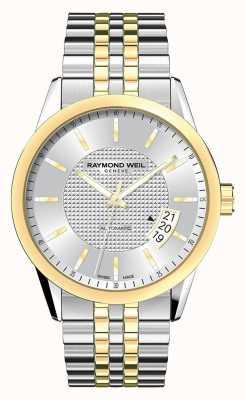 Raymond Weil Męskie | raymond weil | freelancer automatyczny zegarek dwukolorowy | 2770-STP-65021
