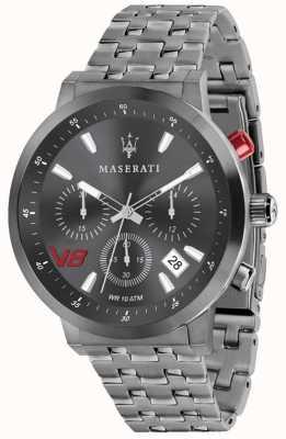 Maserati Mężczyzna gt 44mm | szara tarcza | szara bransoleta ze stali nierdzewnej R8873134001