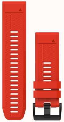 Garmin Ognisty czerwony gumowy quickfit 26mm fenix 5x / taktix charlie 010-12517-02