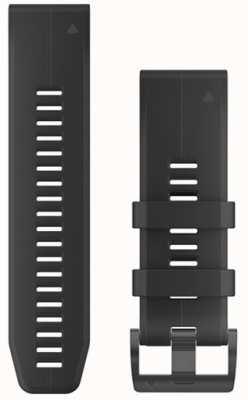 Garmin Czarny pasek gumowy quickfit 26mm fenix 5x / tactix charlie 010-12741-00