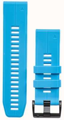 Garmin Niebieski, gumowy pasek quickfit 26mm, fenix 5x / tactix charlie 010-12741-02