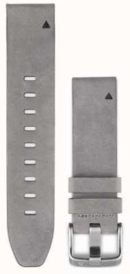 Garmin Szary zamszowy pasek quickfit 20mm fenix 5s 010-12491-16