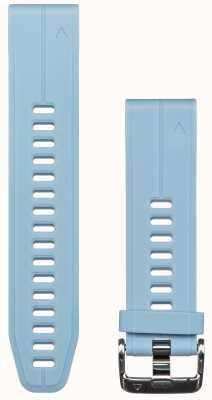 Garmin Niebieski, gumowy pasek quickfit 20mm, fenix 5s 010-12739-03