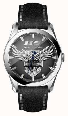 Harley Davidson Męski zegarek z limitowanej edycji z okazji 115. rocznicy 76A160