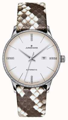 Junghans Meister damen automatic | diamenty | paski python i jaszczurki 027/4847.00