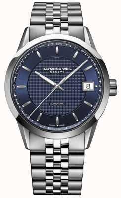 Raymond Weil Mężczyźni | freelancer ciemnoniebieski | automatyczny zegarek 2740-ST-50021