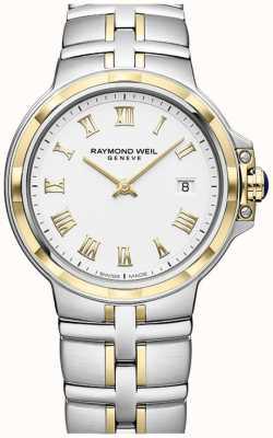 Raymond Weil Parsifal dwukolorowy | złoto i stal nierdzewna | męski zegarek 5580-STP-00308