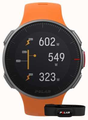 Polar Vantage V (z paskiem HR) GPS multisportowy pomarańczowy pasek GPS 90069666