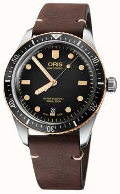 Oris Divers sześćdziesiąt pięć 40mm męski zegarek 01 733 7707 4354-07 5 20 45