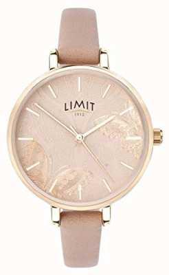 Limit | damski sekretny zegarek ogrodowy | brzoskwiniowy motylkowy wybieg | 60014
