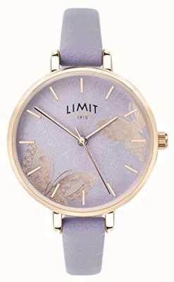 Limit | damski sekretny zegarek ogrodowy | fioletowy motyl wybierania | 60015